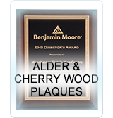Cherry Wood Plaques