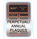Perpetual and Annual Plaques